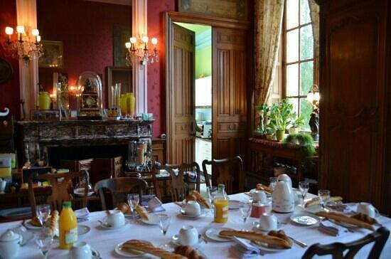 Château de Villersexel : Frühstückszimmer