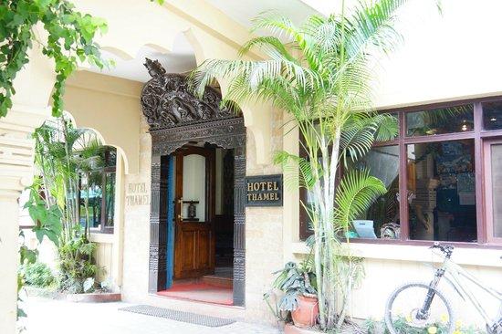 Hotel Thamel: Hotel Entrance