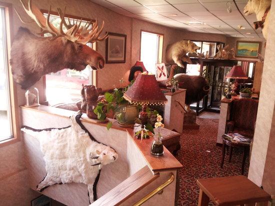 Hotel Seward: Hotel Lobby!