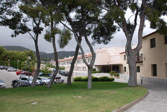 Gran Hotel Rey Don Jaime: Außenanlage