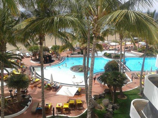 Suite Hotel Fariones Playa: desde la terraza