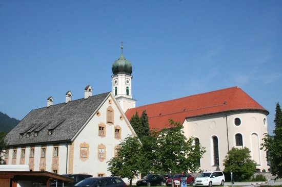 Oberammergau Church: esterno