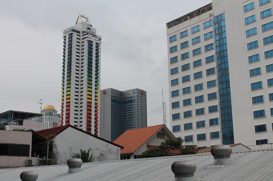myhotel Pratunam: PEMANDANGAN DARI DALAM KAMAR, BAIYOKE SUITE