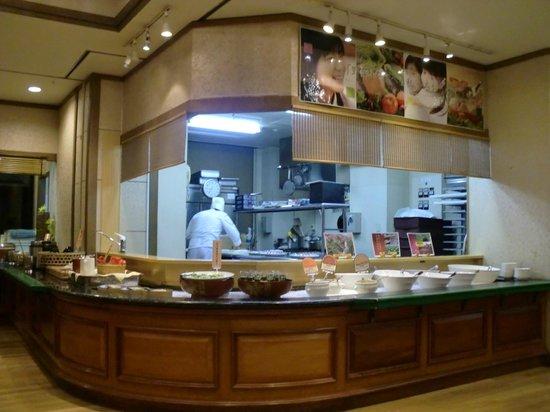 Hotel Sun Valley Izu-nagaoka Waraku: 夕食