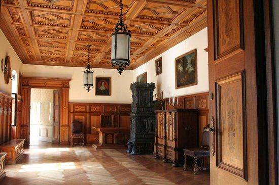 Schloss Baldern: sala