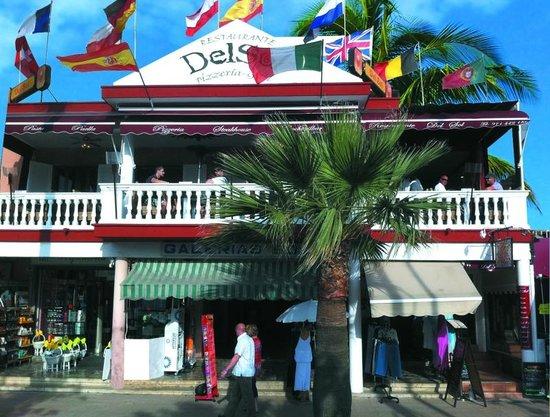 Del sol restaurant an der playa de palma picture of for Bistro del jardin mallorca
