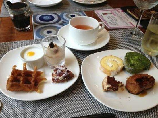 Mori Buffet: デザートの数々