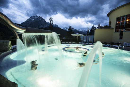 Scuol, Switzerland: Aussebad
