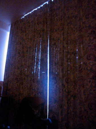 Arcadia Hotel Berlin: The curtains could do with replacing