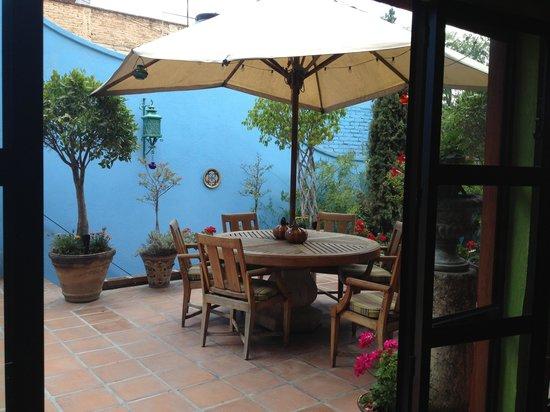 Terraza Para El Almuerzo Casa Cinco Patios Picture Of