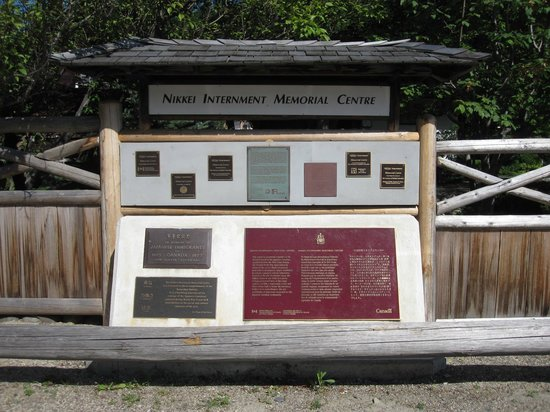 Nikkei Internment Memorial Centre: Welcome Sign