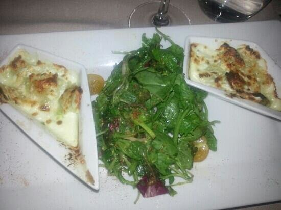Restaurant Les Alpes : ravioles