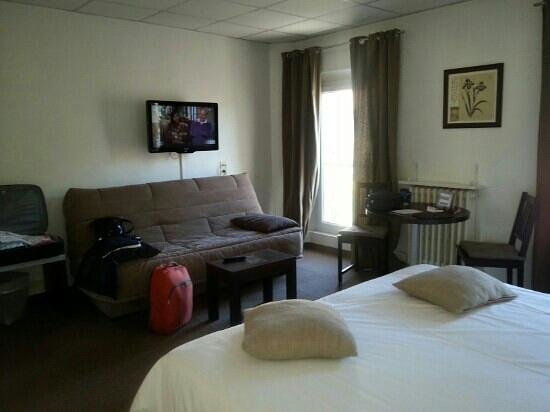 Hotel des Alpes: chambre 36