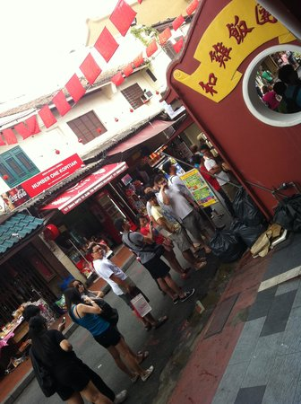 Jonker Boutique Hotel: Long queue-Hoe Kee chicken rice