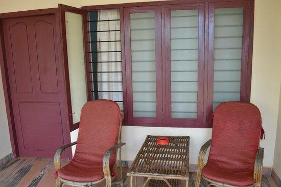 Sea Win Resort: The balcony
