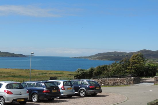 Summer Isles Hotel: View from car park