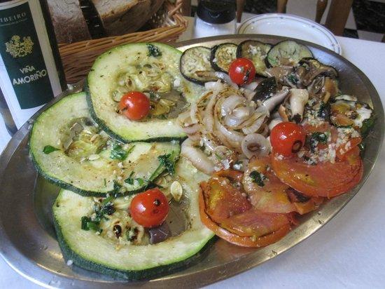 Hotel Restaurante Mediante: Grilled veggies