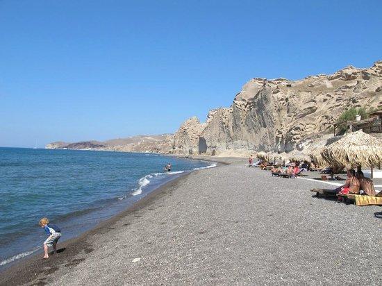 Eros Beach : spiaggia verso ovest