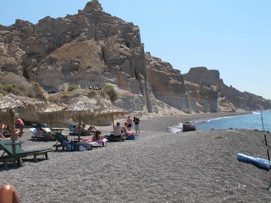 Eros Beach : spiaggia verso est