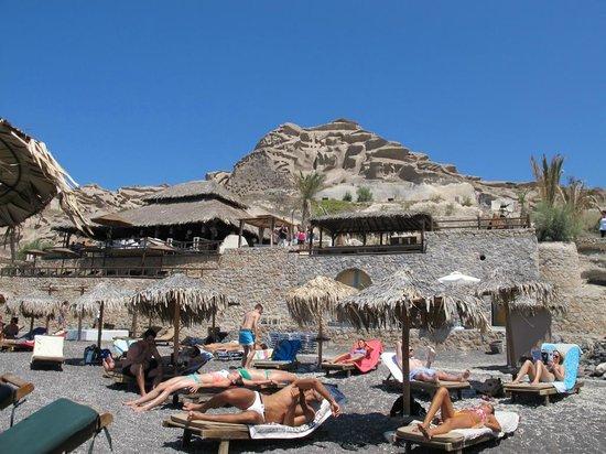 Eros Beach : ombrelloni e bar