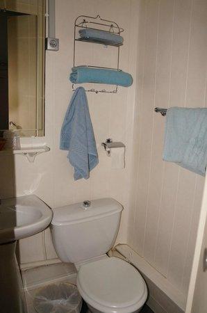 Hotel Les Flots Bleus: Ванная комната