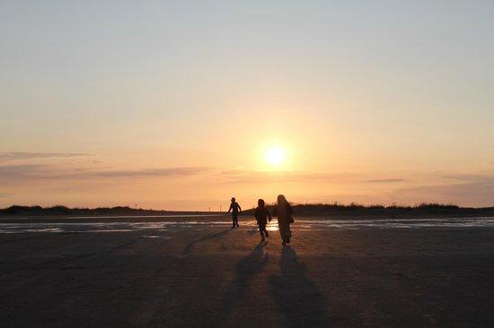 Skærbæk Fritidscenter: Lakolk Strand på Rømø