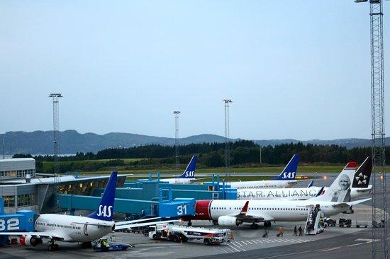 Clarion Hotel Bergen Airport: CLARION BERGEN AIRPORT - Vue depuis la chambre