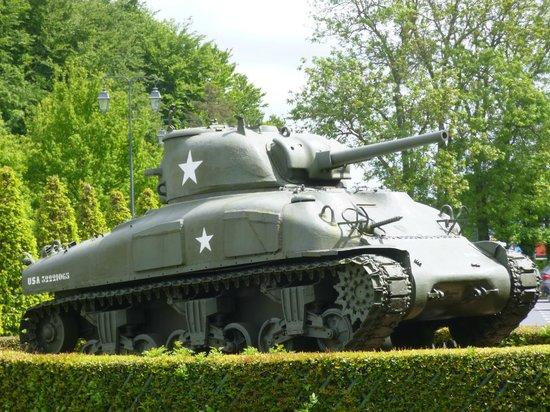 Musée Mémorial de la Bataille de Normandie : sherman