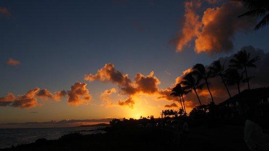 Poipu Kapili: Sunset