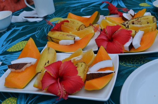 Samoan Outrigger Hotel: Breakfast!!!