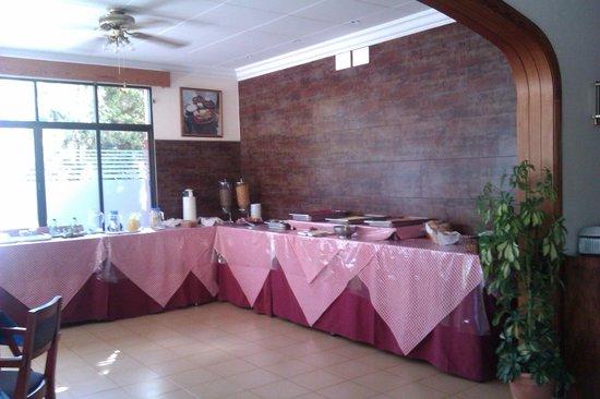 Figuera Park Hotel: breakfast