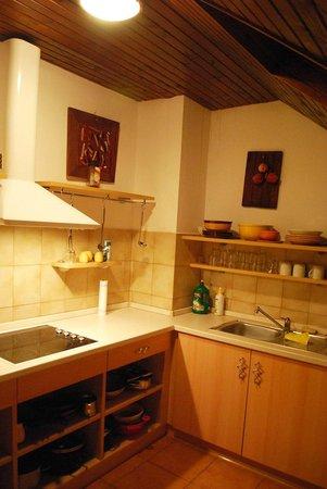Apartments Trata : Kitchen