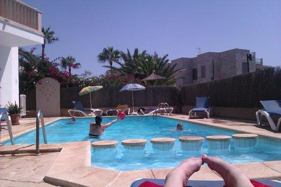 Figuera Park Hotel: the pool (at Apartamentos Salas)