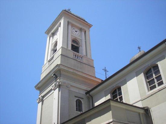 Chiesa di San Nicolo dei Greci: One of the bell towers