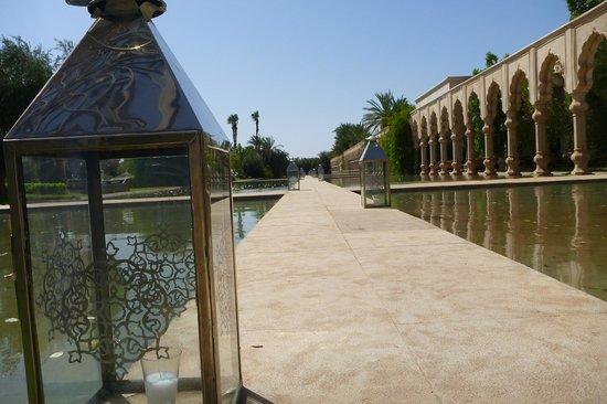 Palais Namaskar : l'entrée