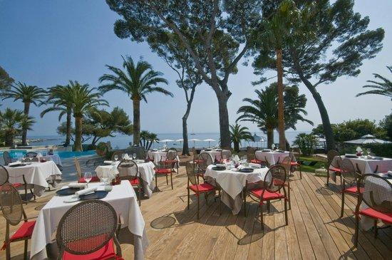 La Villa Mauresque - Le Bougainvillier : Restaurant Le Bougainvillier St Raphael