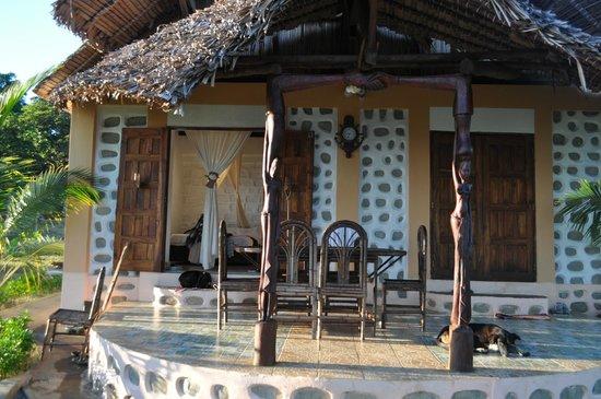 Villa Mahilaka: terrasse
