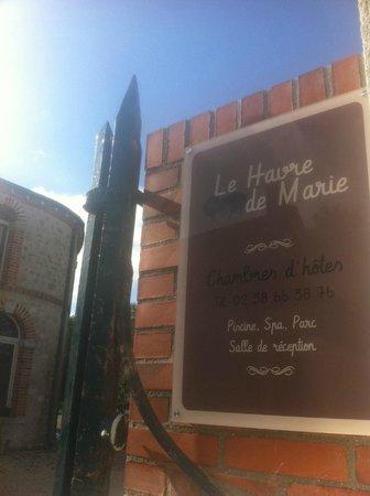 Le Havre de Marie : le havre.....