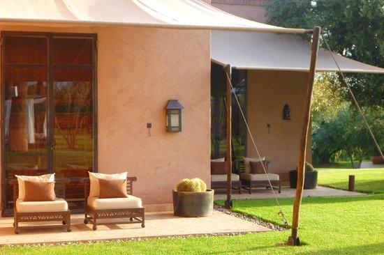 Villa Zin : les terrasses des suites