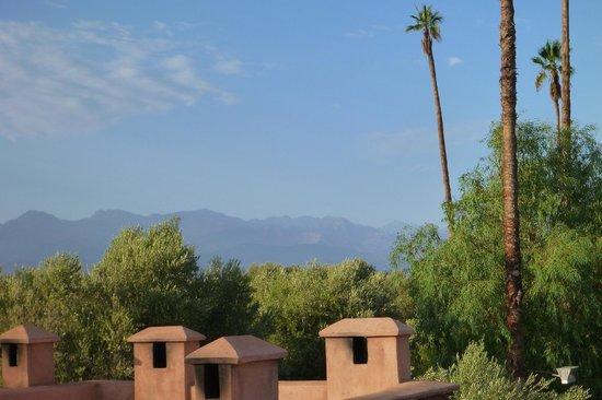 Villa Zin : vue sur l'Atlas
