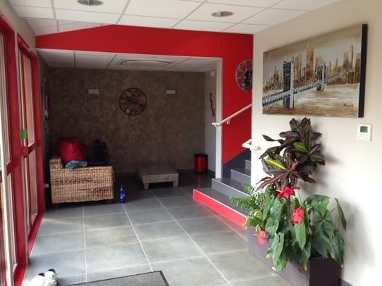 Hotel L'Argonn' Auberge : le hall de l'hôtel