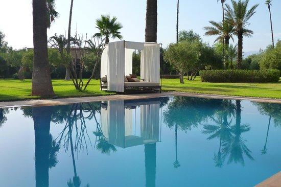 Villa Zin : les bed piscine