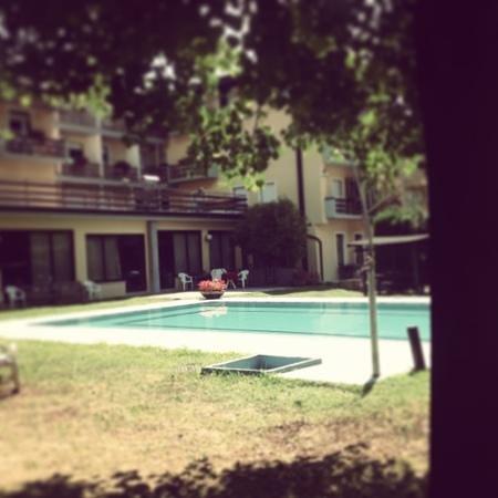 hotel dolomiti: piscina