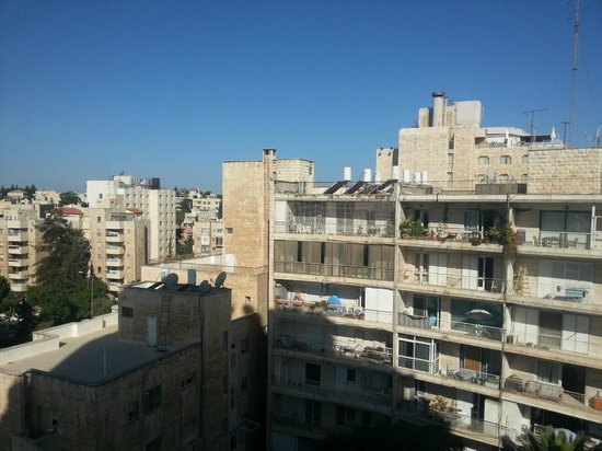 King Solomon Hotel: the view from our window