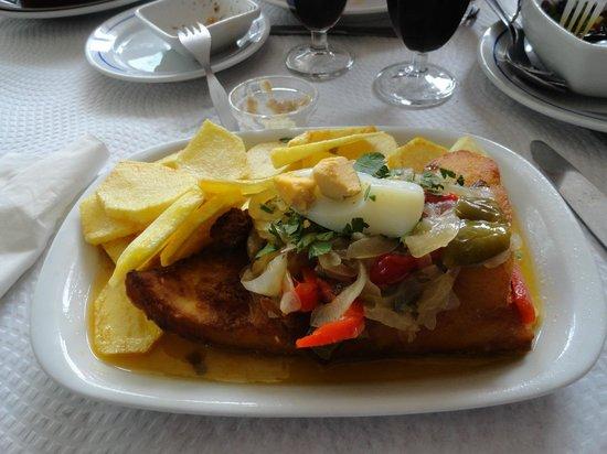 Restaurante Central: Bacalao a la Central