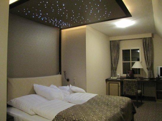 Burghotel: letto