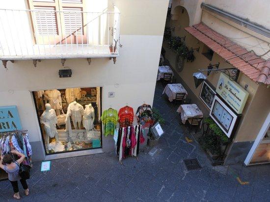 Hotel del Corso : vista dalla camera