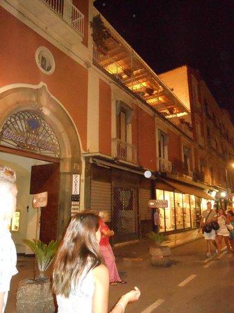 Hotel del Corso: vista dell'hotel dal Corso