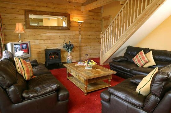Lodges on Loch Ness: Main living area