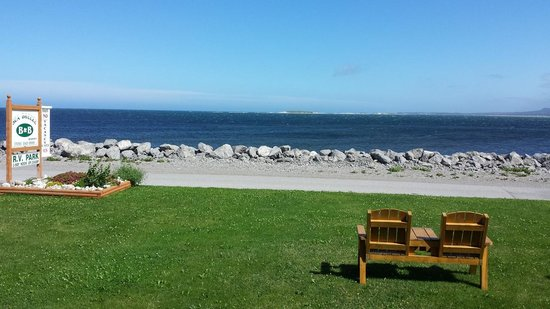 Seabreeze B & B : View from the porch